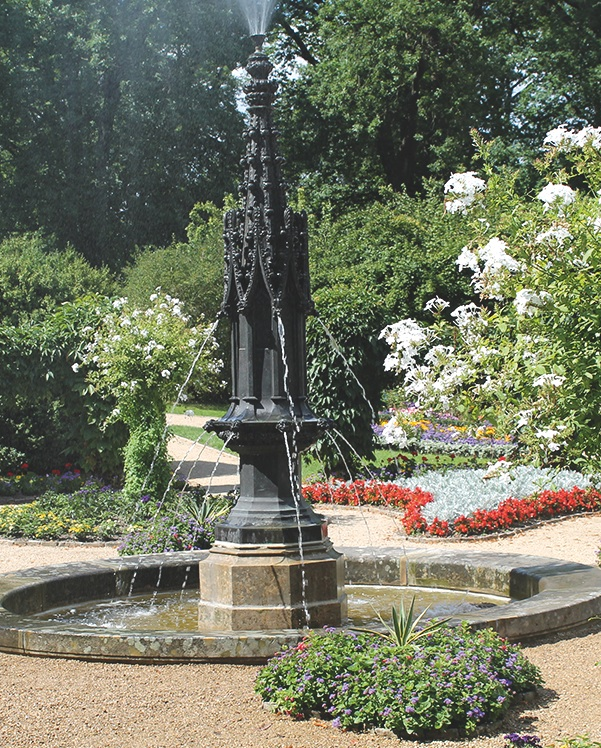 unesco welterbe schlosspark babelsberg p cklers brunnen wasserf lle und bachl ufe. Black Bedroom Furniture Sets. Home Design Ideas